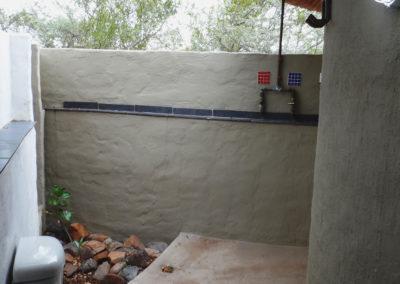 Pangolin Woodpecker Outdoor Shower