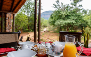 Shikwari Nature Reserve - Alfresco Breakfast