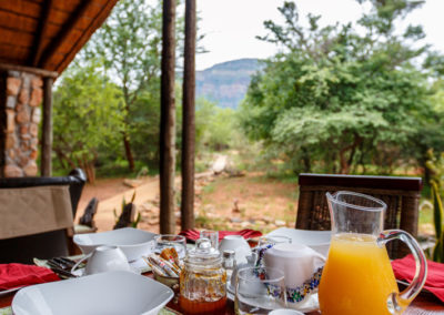 Shikwari Nature Reserve - Alfresco Breakfast