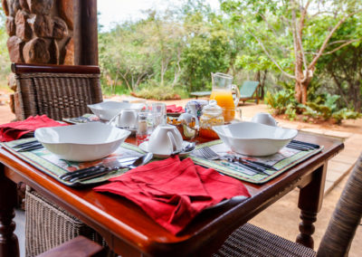 Shikwari Nature Reserve - Breakfast