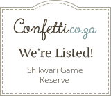 Shikwari Game Reserve - Confetti.co.za